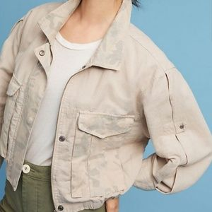 Anthropologie Hei Hei Camouflage Jacket